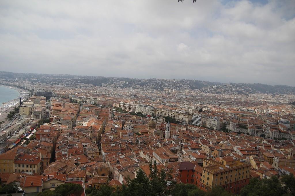 İşte bu da eski Nice manzarası