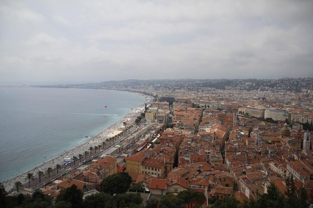 İşte Promenade des Anglais!