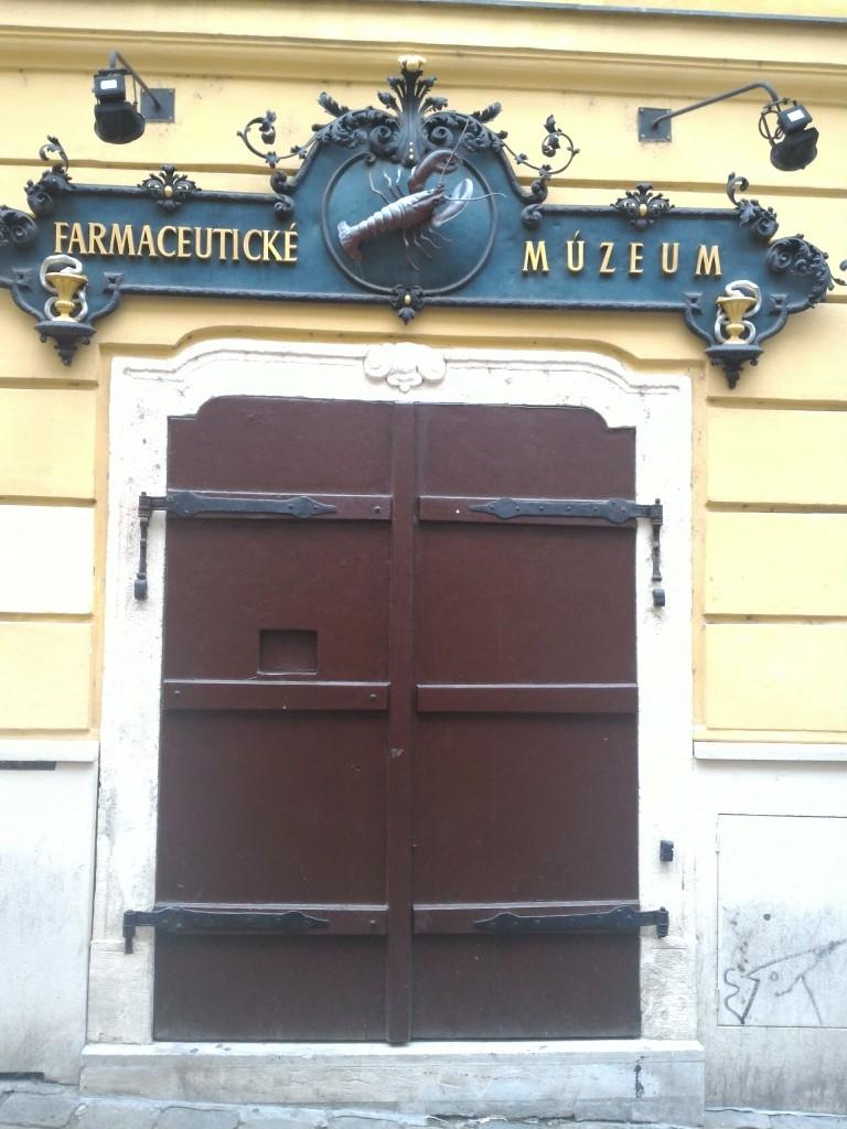 Ve ilginç bir müze; ilaç müzesi :)